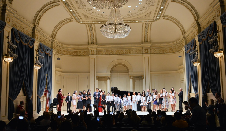 carnegie hall group