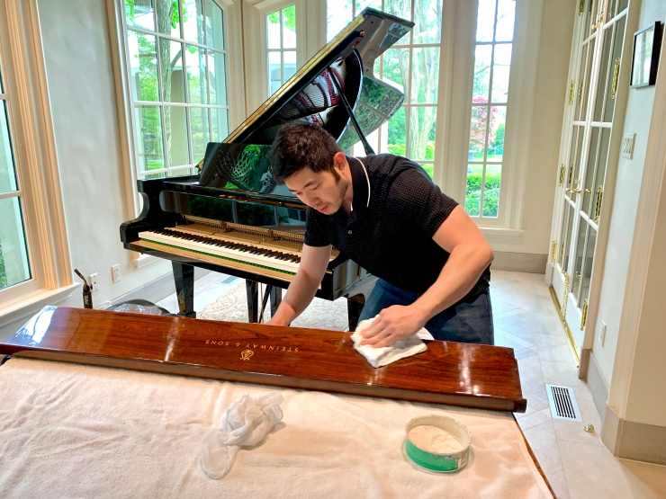 piano clean
